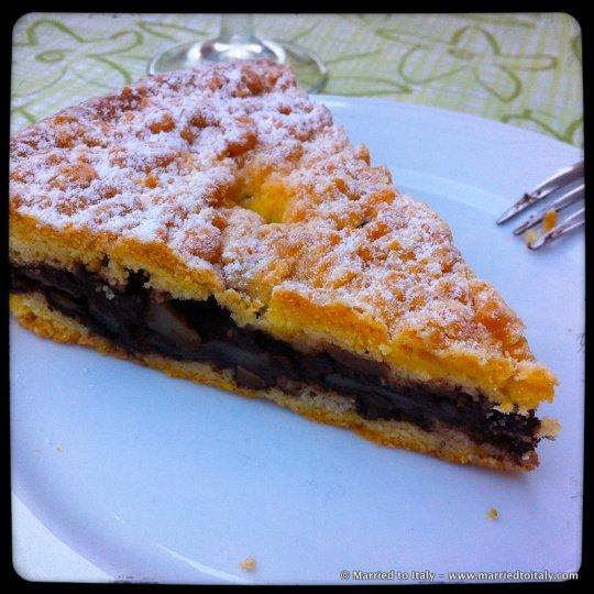 Corchia - torta di ricotta e pera