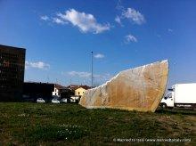 Bibbiano's cheesey roundabout