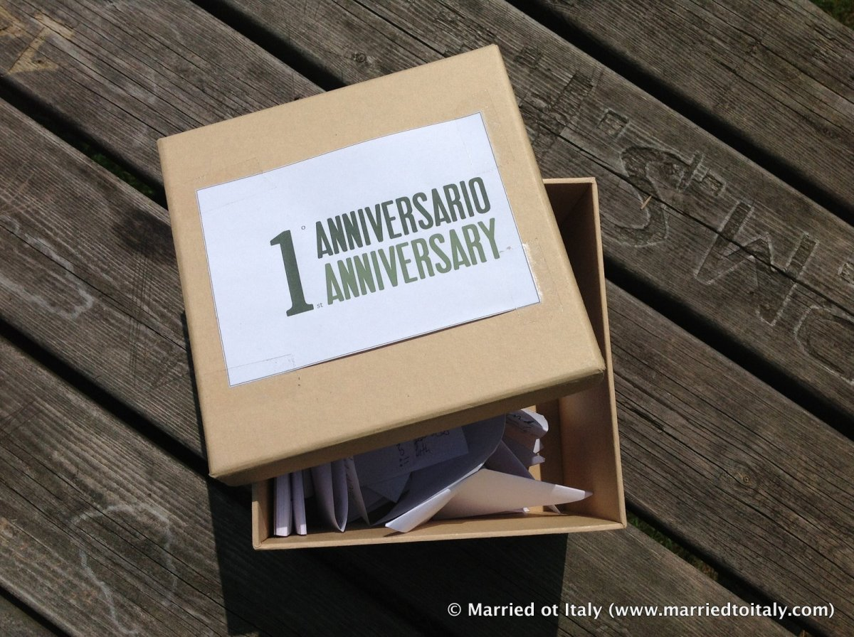 Looking back on one year of marriage… to an Italian man  | Married