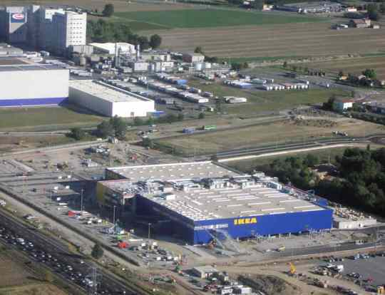Parma Ikea - next to Barilla factory