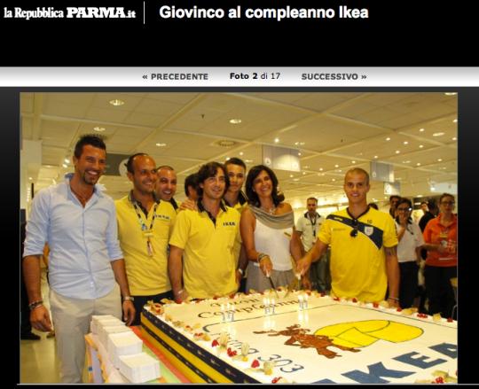 Ikea Parma party