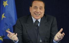Berlusconi shrug