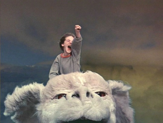 Bastion atop Falkor - NeverEnding Story