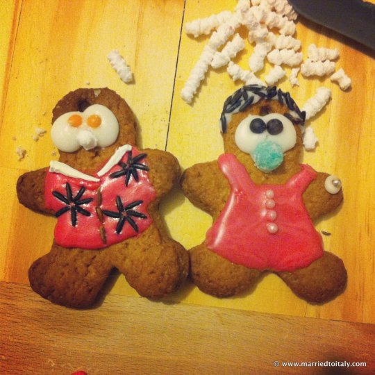 Floridian gingerbread retirees