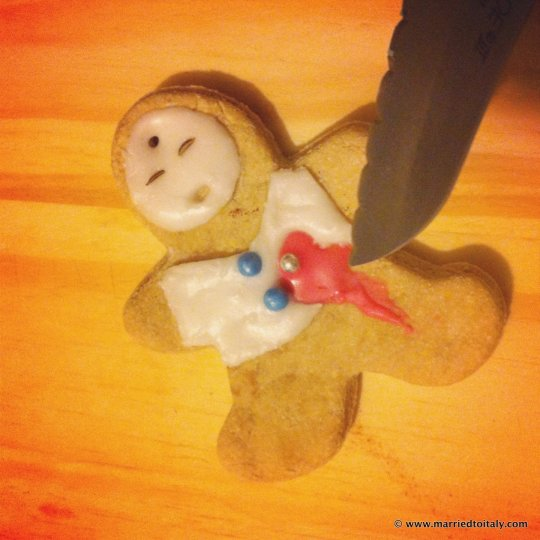 gingerbread casualty