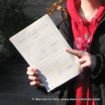 Jan 2009 - official Italian resident