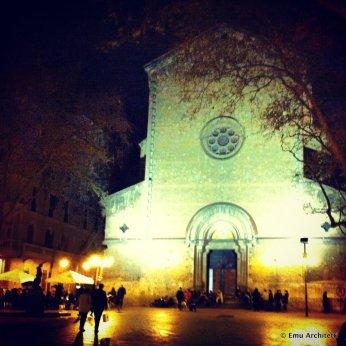 church in Placa de la Virreina, Gracia, Barcelona