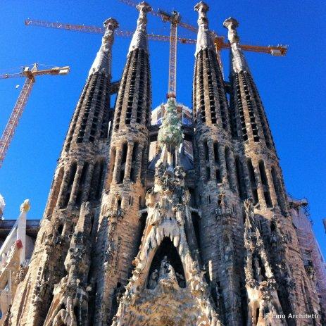 Sagrada Famiglia by Gaudi, Barcelona