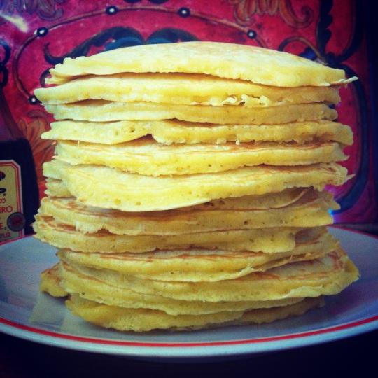 pancakes for my marito