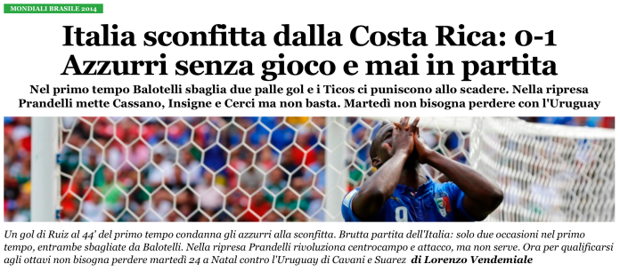 ilfattoquotidiano - italy world cup loss