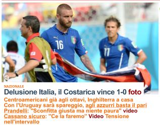 repubblica - italy world cup loss