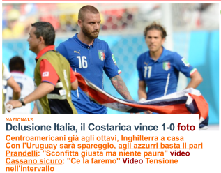 repubblica - italy world cup loss