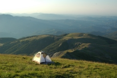 camping on Cusna