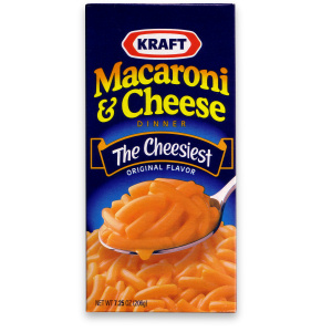The ORIGINAL Kraft Mac n Cheese box
