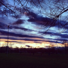 sky in the Pianura
