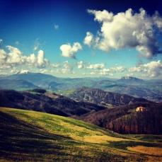 view of Pietra di Bismantova