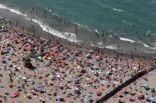 beach in Rome - MetroNews