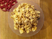 cappelletti coming out of freezer