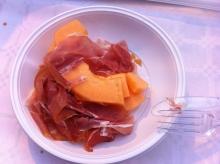 prosciutto con melone