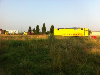 fields with gypsies