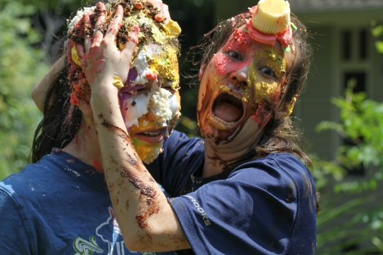"""Cake fight"" by David Lee is licensed under CC BY-SA 2.0"
