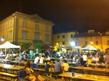 town festival in Cavriago, Reggio Emilia