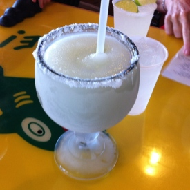 What a Texan margarita looks like